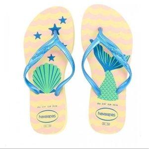 Havaianas Mermaid Fantasia Flip Flips
